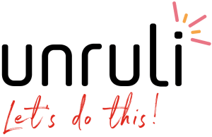 unruli logo and let's do this