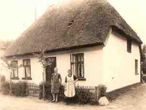 anno 1895, Nostalgie Ferienhaus vor Usedom an der Ostsee