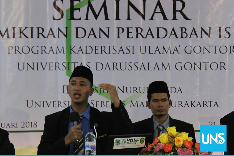 Seminar Masjid UNS dan Universitas Darussalam Gontor