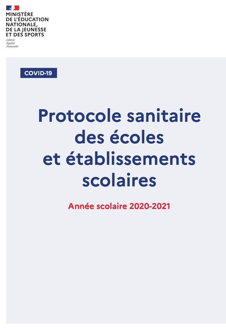 [UNSA] Le nouveau protocole sanitaire