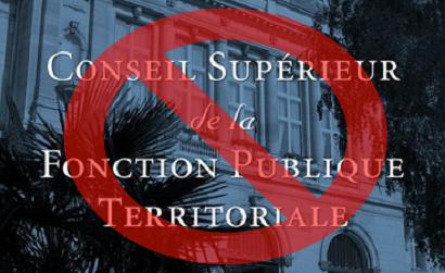 L'UNSA boycotte le Conseil Supérieur de la Fonction Publique Territoriale du 30 avril