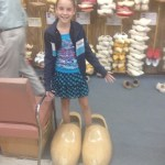 Wooden shoes for American Girls dolls