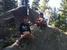 Hiking around Jenny Lake