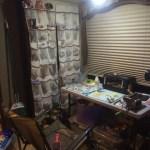 create a tiny ART studio