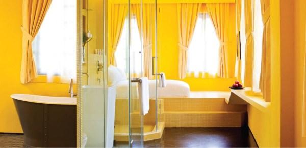 Pantone Deluxe Room at Wanderlust Hotel