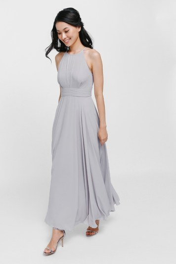 Bridesmaid Dress Love Bonito Bautrice Mesh Maxi Dress