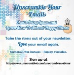 Are you tired of your newsletter feeling like a never ending chore?