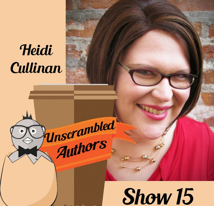 Unscrambled Authors Episode 15: Patreon with Heidi Cullinan