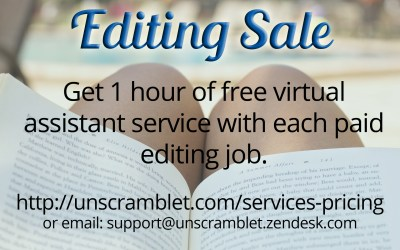 Editing Sale Extended