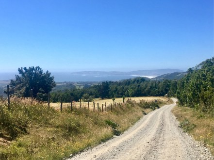 The climbs on Chiloe are steep