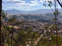 View from one of the siete patas (7 hills) of Sucre