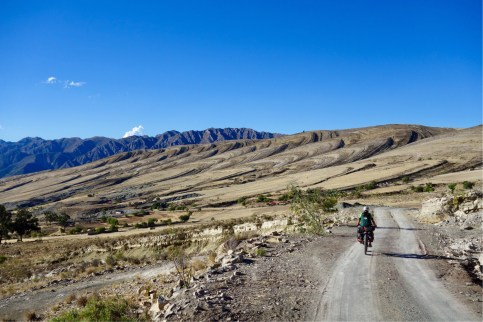 The impressive scenery on the ride into Maragua Crater