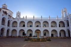 View from the couryard of San Felipe Neri