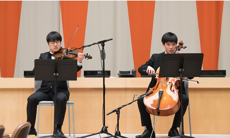 Photo Credit: James Kruglinkski, Republic of Korea Special Olympics Ensemble