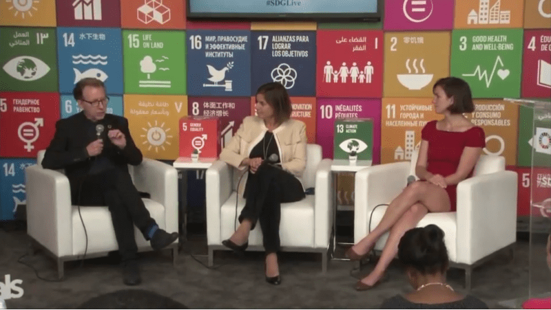 "Communicating the 2030 Agenda-Launch of ""Targets for Action"", SDG Media Zone"