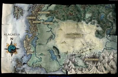 Mapa de Alagäesia