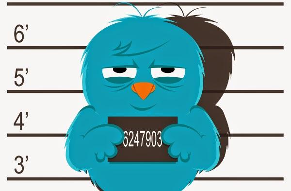 Twitter en la cárcel