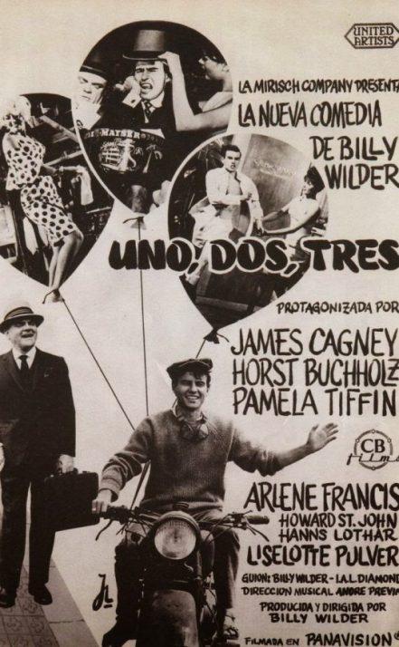 Uno, dos, tres, una película de Billy Wilder