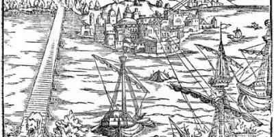 La batalla termosolar, Arquímedes