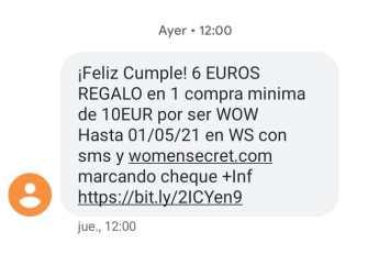 Women Secreto - 6€ descuento