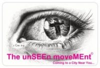 Logo for unSEEn moveMEnt