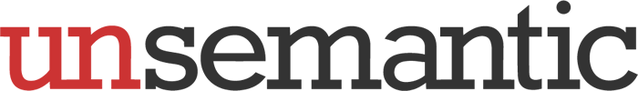 Unsemantic logo