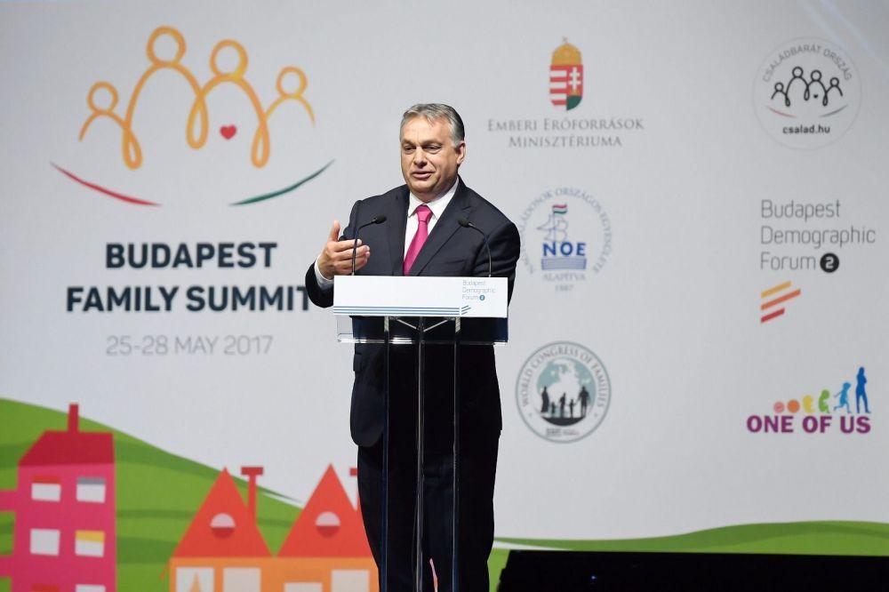 """Orbán: """"Bis 2030 muss die Geburtenrate auf 2,1 angehoben werden"""""""