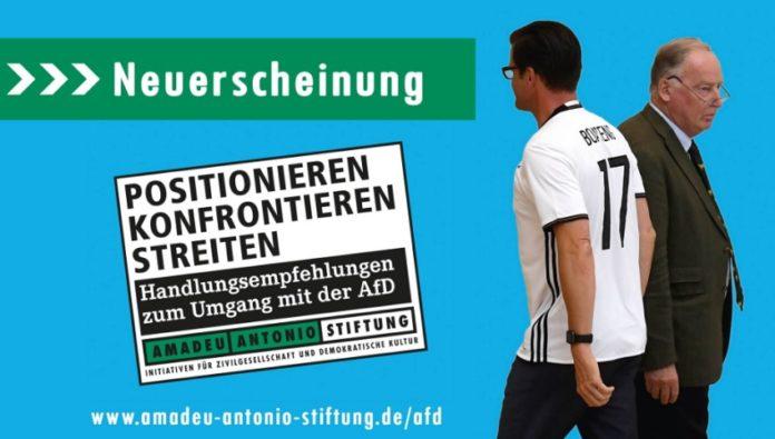 Amadeu-Antonio-Stiftung veröffentlicht Hetzbroschüre gegen AfD