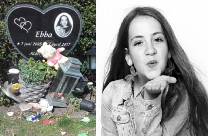 Grab der ermordeten Ebba (11) schon über 30 Mal von Flüchtlingen geschändet
