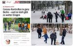 Polizei: Bei Drogendealern Hosen voll - gegen im Schnee spielende Kinder stark