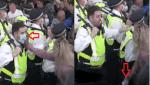 London: Bürger jagen Schlagstock-Polizisten in Flucht und reißen ihnen Masken herunter