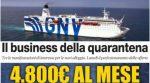Italien: Regierung sucht 5 weitere Schiffe, um illegale Migranten auf Quarantäne-Kreuzfahrt zu schicken