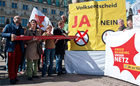 UNSER HAMBURG – UNSER NETZ ruft zum JA beim Energienetze-Volksentscheid auf