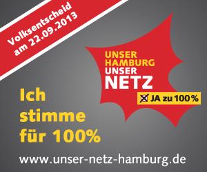 Unser Hamburg – Unser Netz: Ich stimme für 100%