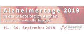 Logo Welt-Alzheimertage 2019