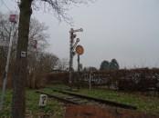 Foto Ein stillgelegtes Gleis im Schwalmtal