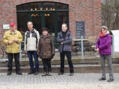 Gruppenfoto vor der Lüthemühle