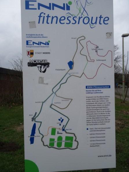 Foto Karte Rundwanderweg