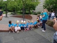 Foto Kinder der Kindertagesstätte Regenbogen