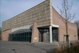 Foto der Christ-König Kirche in der Neuen Stadt.om 3. Februar 2008
