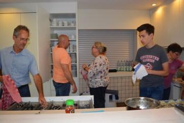 Foto: Viel Arbeit in der Küche