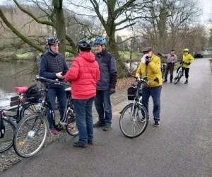 Foto Gruppe Radfahrer