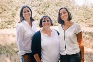 Foto von den Heilpraktikerinnen Sylvia Driesch, Annemarie Angerhausen, Katharina Röbbecke