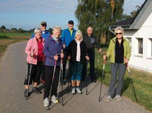 Gruppenfoto Walking-Gruppe