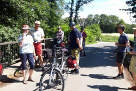 Foto Teilnehmer Radtour