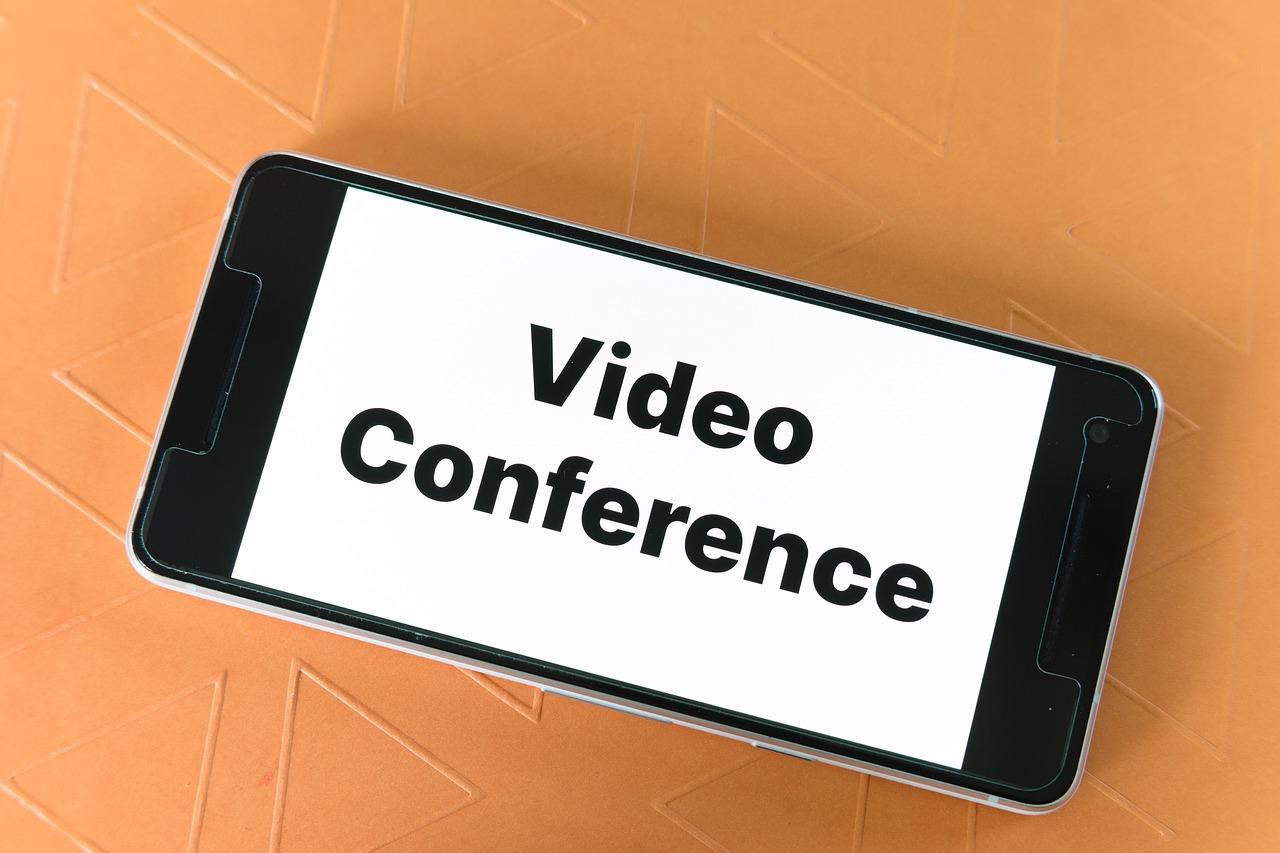 Schaubild Videokonferenz
