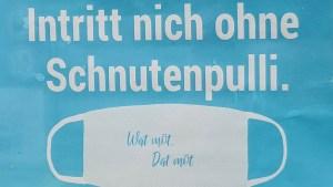 Foto Schild Schnutenpulli