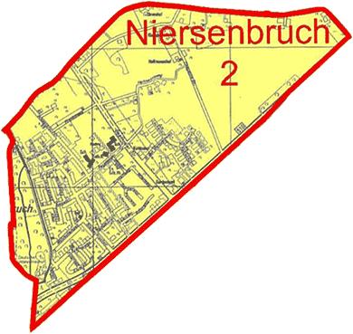 Karte Stadtteil Niersenbruch