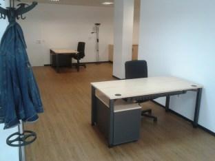 Bild: Der Empfangsbereich im Büro der Anlaufstelle für ältere Menschen