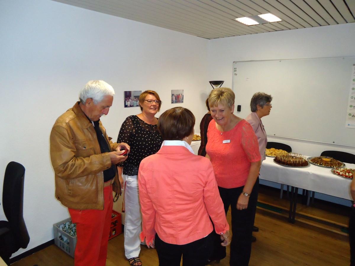 Bild: Vorbereitung Eröffnung Senioren-Anlaufstelle